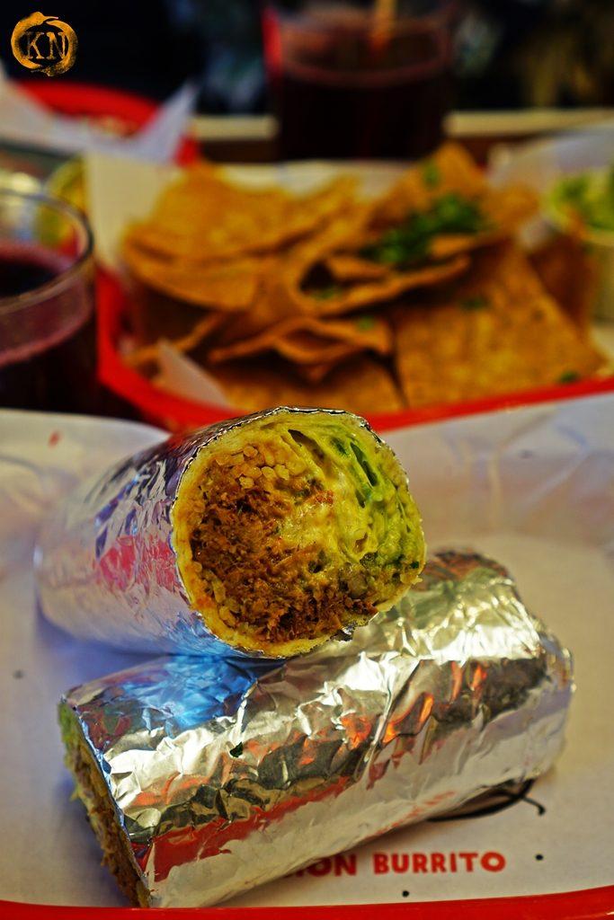 MariCruz Mission Style Burrito