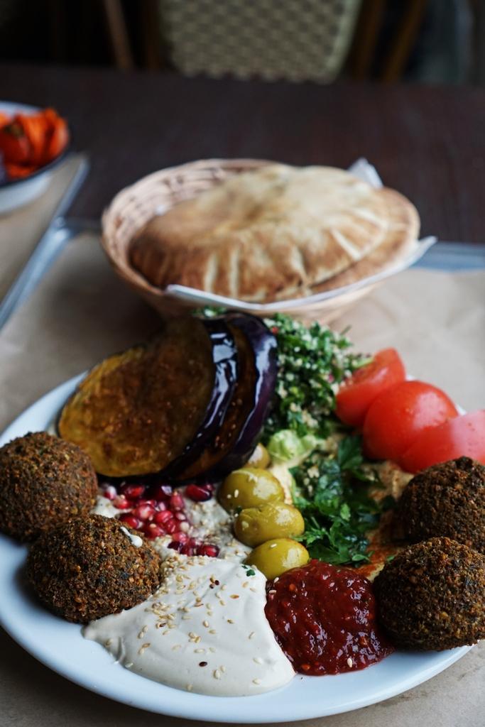 Mezze - talerz arabski