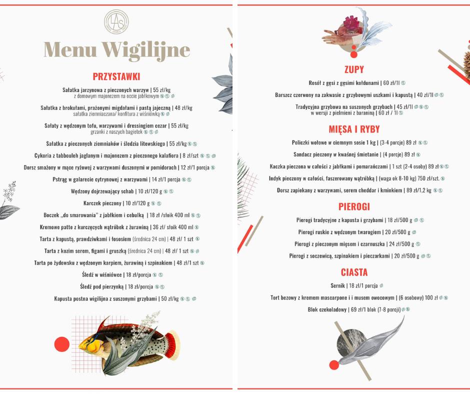 Przegląd oferty świątecznej w warszawskiej gastronomii!